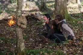 the walking dead episode guide glenn and michonne are tied up in the walking dead season 6