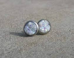 stainless steel earrings hypoallergenic hypoallergenic studs etsy