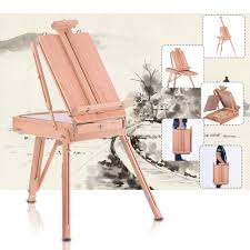 Desk Easel For Drawing Folding Art Artist Wood Wooden Easel Paint Sketch Drawing Box