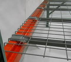 flared wire decking wire decking for racks
