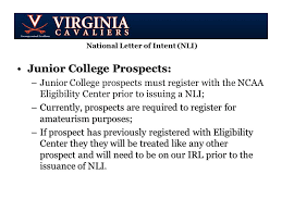 College National Letter Of Intent November Coach S Education National Letter Of Intent Nli