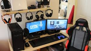 Computer Set Ups by Gaming Room Setup Ideas Arlene Designs