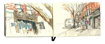 new york city stories u2013 meet the urban sketchers u2013 moleskinerie