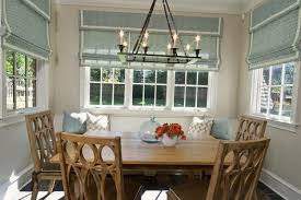 modern window treatments dining room decorating ideas with dining