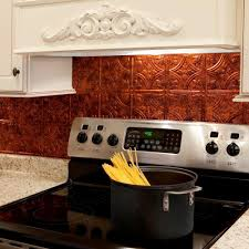 kitchen interior copper backsplash kitchen brick subway tile ideas
