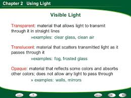 Visible Light Examples Section 1 Waves And The Electromagnetic Spectrum Ppt Video