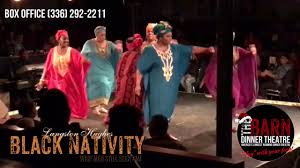 Barn And Dinner Theater Greensboro Nc Black Nativity Promo Youtube