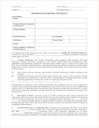 7 roofing contract template timeline template