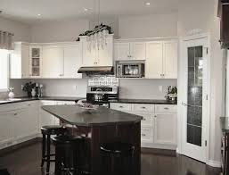 Kitchen Island With Barstools by Kitchen Room Cool Espresso Kitchen Island Also Sink And Black