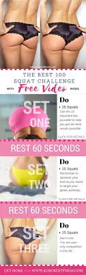Best Challenge The Best Squat Challenge Workout Can Be