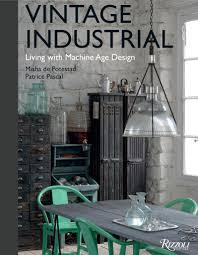 vintage industrial machine age design coffee table book