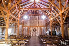 venue information the barn at schwinn produce farm interior of barn looking towards back