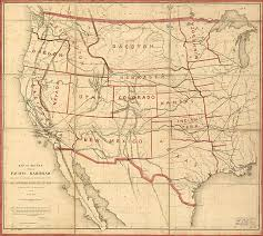 map us railroads 1860 history of railroad maps