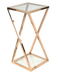 gold metal side table luxury rose gold coffee table coffee table