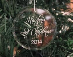 personalized ornament engraved ornament