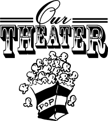 our theater vinyl decal wall stickers letters words movie room
