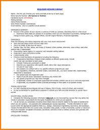 Jobs No Resume Needed by Proper Resume Format Haadyaooverbayresort Com
