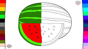 fruit coloring pages drawing and coloring learning fruit names