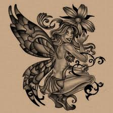 free fairy pin up tattoo design photos pictures and sketches