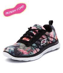 Nike Comfort Footbed Sneakers Skechers Flex Appeal Memory Foam Workout Apparel Pinterest