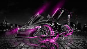 mclaren p1 purple mclaren p1 open doors fire crystal car 2013 el tony