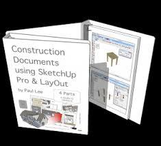 sketchup training ebook paulthecad