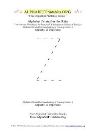 letter z alphabet printables for kids alphabet printables org