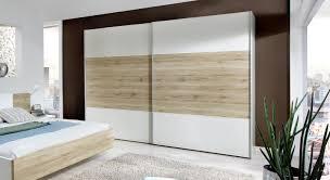 Schlafzimmer Schrank Holz Modern Kleiderschrank Mit Zwei Schiebetüren Z B In Weiß Swansea