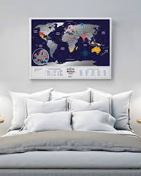 Scratch Off Map Usa by Travel Map Black Buy Scratch Map In 1dea Me Gift Store