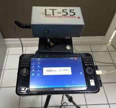 2008 laser products lt 55 xl digital templating system used