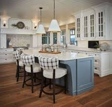 painted islands for kitchens the kitchen makeover features period millwork and floor to ceiling