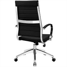 jive highback office chair in black lexmod