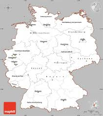 Essen Germany Map by Gray Simple Map Of Germany Cropped Outside