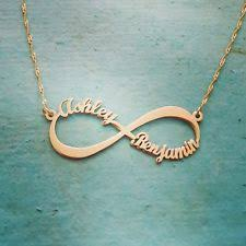 Infinity Necklace With Name Items In The Name Necklace Store On Ebay