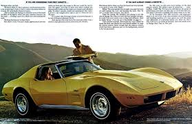 what makes a corvette a stingray 1974 corvette specs colors facts history and performance