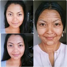 old age makeup for