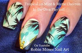 robin moses nail art tropical u0026 trendy teal nails to try summer