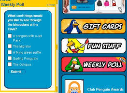 club penguin gift card june 2007 club penguin assisstance guide