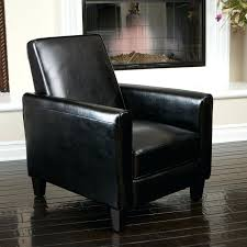 black leather club chair and ottoman leather recliner club chair chairs red reclining with ottoman cvid