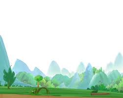 trees1000 easter eggs road drawing watercolor painting castle peak