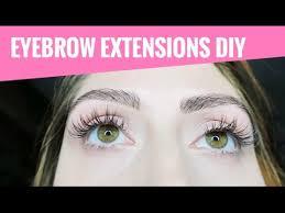 3d brow building eyebrow extensions diy tutorial mermaid gossip