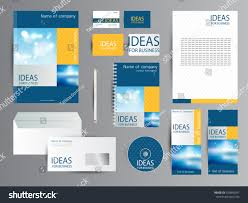 coorporate design corporate identity business stock vector 559850347