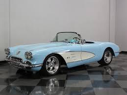 1959 corvette for sale blue 1959 chevrolet corvette for sale mcg marketplace