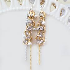 Chandelier Gold Earrings Shop Gold Chandelier Earrings For Wedding On Wanelo
