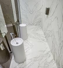 composite flooring residential tile silk calacatta c01