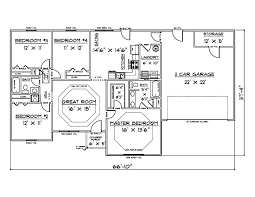 2 Car Garage Square Footage Marvelous 1500 Square Feet House Plans Comfortable 10 House Plans