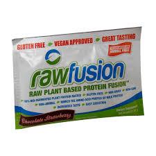 san rawfusion fusion 1 serving protein san nutrition