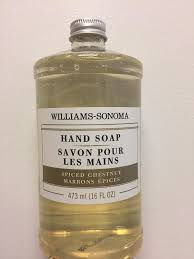 spiced chestnut soap william s sonoma spiced chestnut soap with