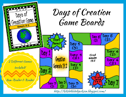 creation story for kids day 2 sunday bible and
