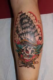 old pirate ship tattoo sail pinterest pirate ship tattoos